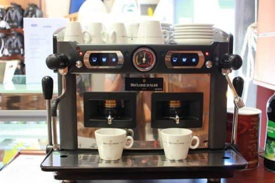 Machine à café Brulerie D'alré Ocean Gate Café