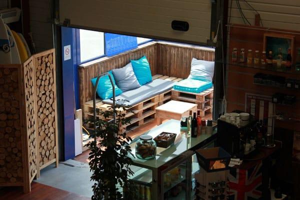 Ocean Gate café à St Pierre Quiberon : boissons chaudes ou froides, sandwich, spécialités bretonnes